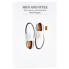 Buy Men and Style: Essays, Interviews and Considerations Book Online at johnlewis.com