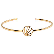 Buy Rachel Jackson London Open Hexagon Bangle Online at johnlewis.com