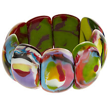Buy Jackie Brazil Kandinsky Oval Maria Stretch Bracelet, Multi Online at johnlewis.com