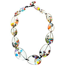 Buy Jackie Brazil Riverstone Cascade Necklace, Multi Online at johnlewis.com