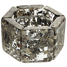 Buy Jackie Brazil Sabrina Resin Bracelet, Clear/Seaweed Online at johnlewis.com