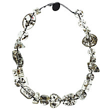 Buy Jackie Brazil Riverstone Seaweed Short Necklace, Clear Online at johnlewis.com