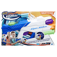 Buy Nerf Super Soaker Dartfire Blaster Online at johnlewis.com