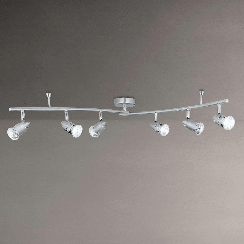 John lewis soyuz 6 spotlight ceiling bar chrome at john lewis buyjohn lewis soyuz 6 spotlight ceiling bar chrome online at johnlewis aloadofball Image collections