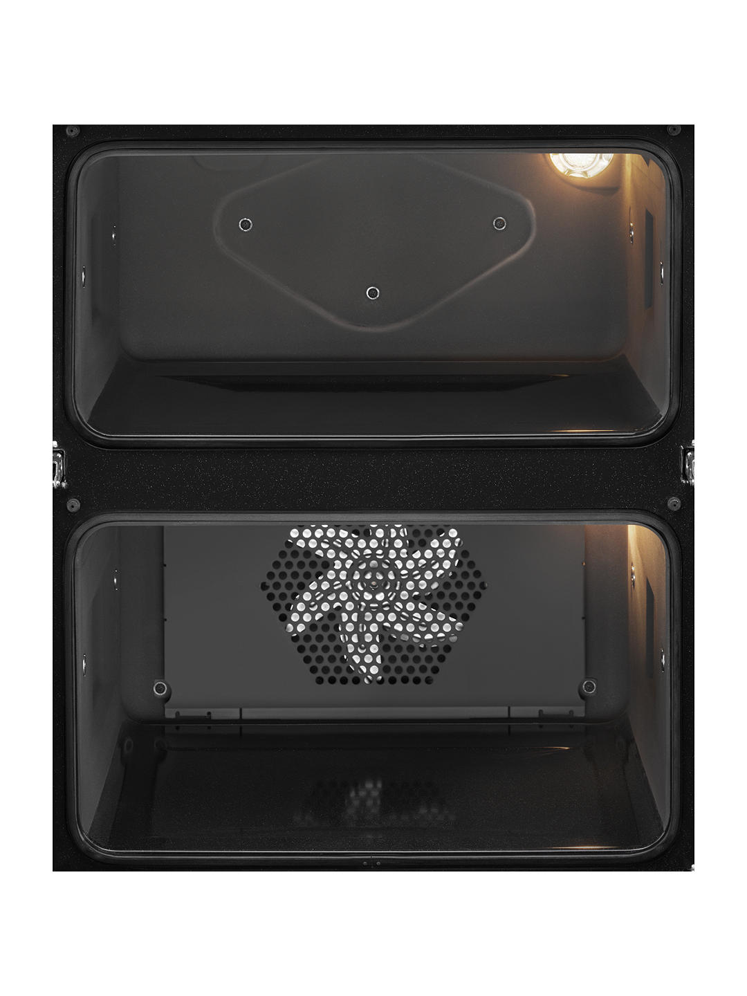 Buy AEG DUE431110M Built-Under Double Oven, Stainless Steel Online at johnlewis.com