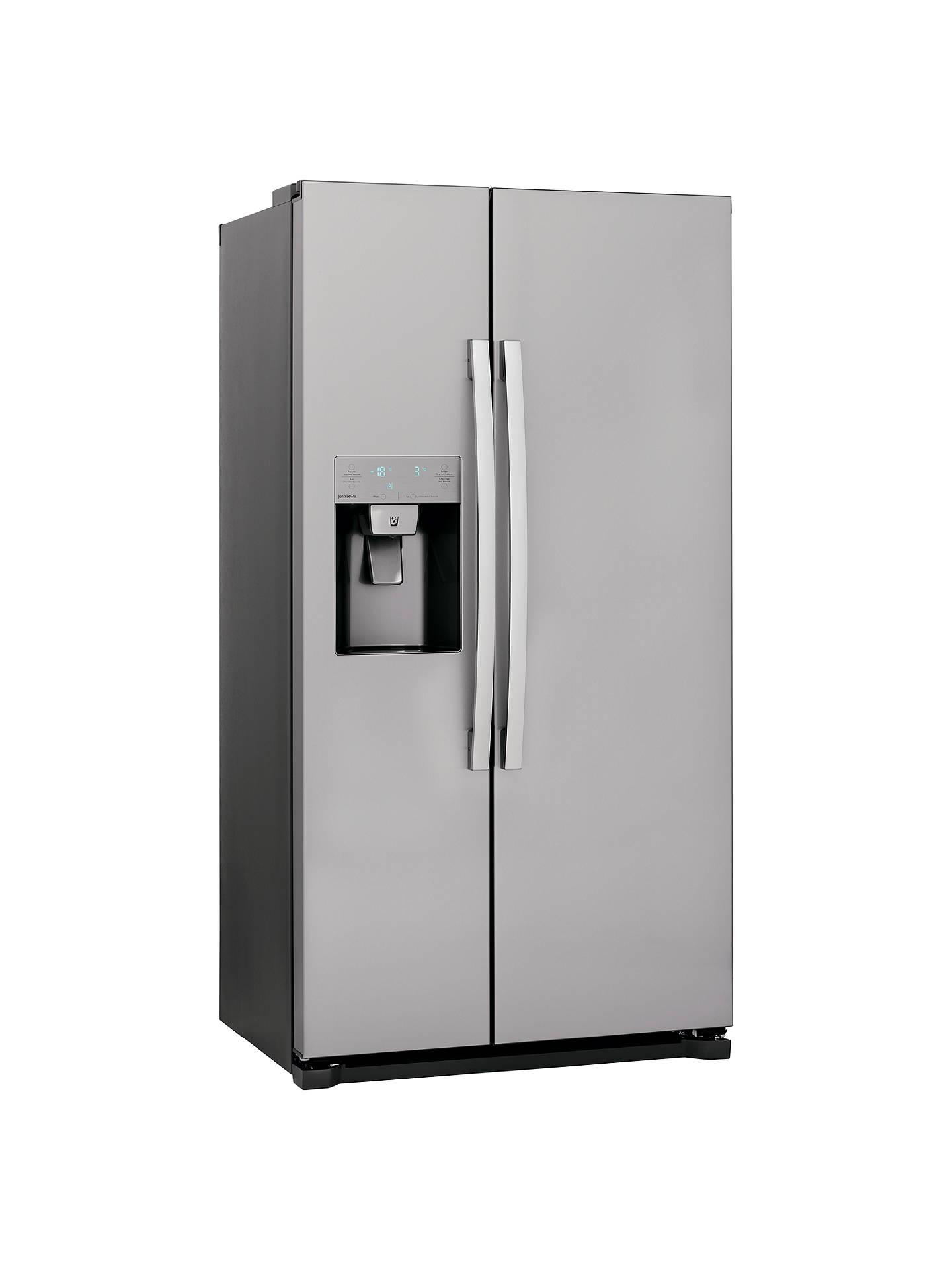 john lewis jlaffss2016 american style fridge freezer a. Black Bedroom Furniture Sets. Home Design Ideas