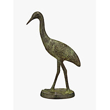 Buy John Lewis Deco Bird Ornament, Bronze Online at johnlewis.com