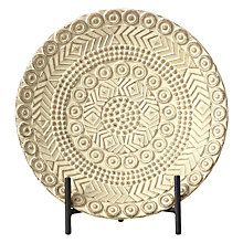 Buy John Lewis Ecomix Decorative Plate On Stand Online at johnlewis.com