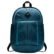 Buy Nike Aura Print Backpack, Space Blue/Blustery Online at johnlewis.com