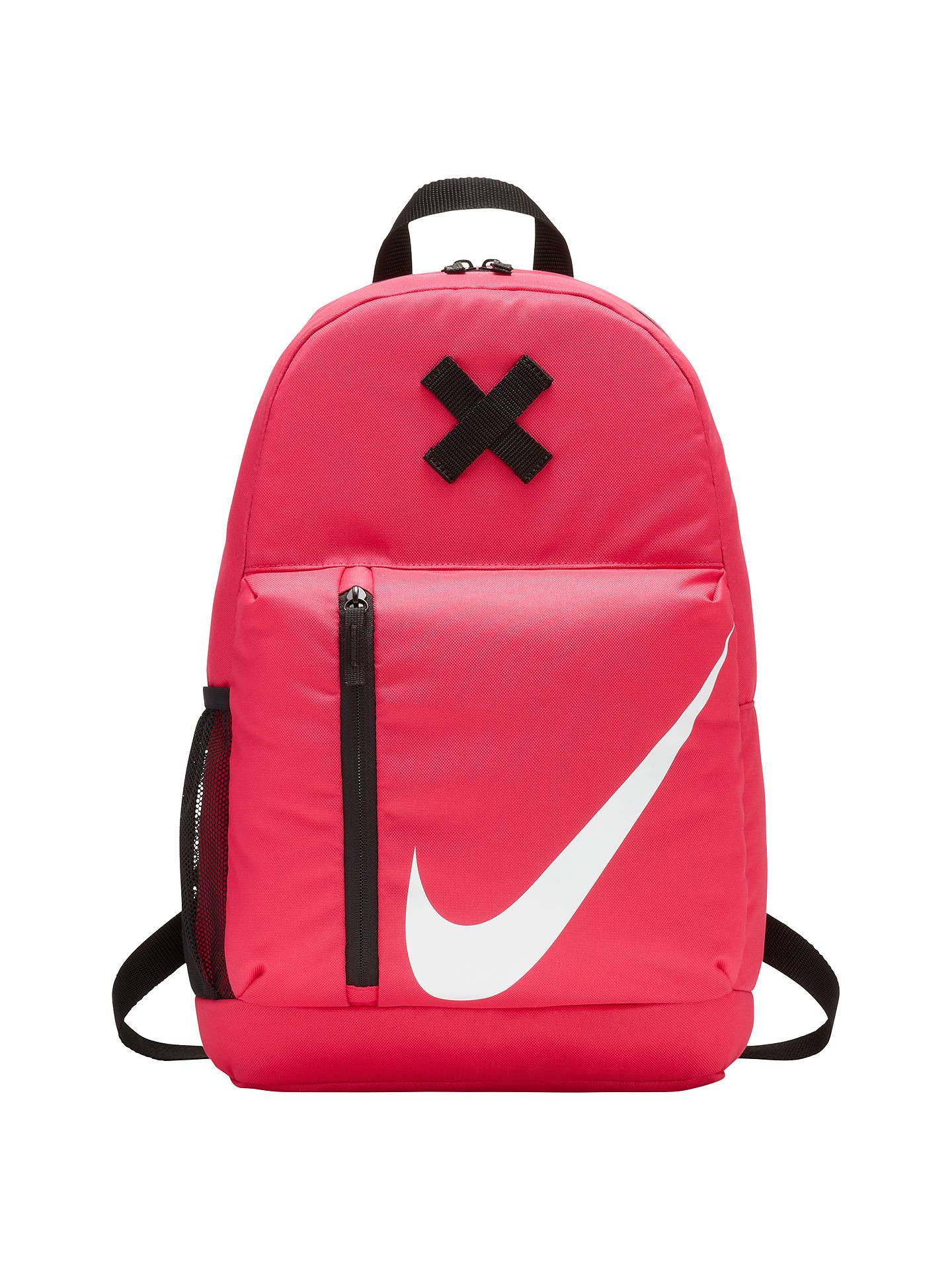 4ec93bf8507 Buy Nike Elemental Children's Backpack, Pink Online at johnlewis. ...