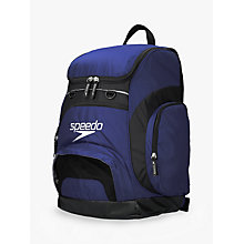 Buy Speedo Teamster Swim Backpack, Blue Online at johnlewis.com