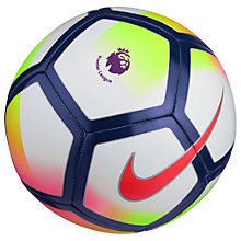 Buy Nike Premier League Pitch Football, Size 5 Online at johnlewis.com