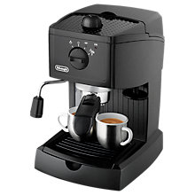 Buy De'Longhi EC146 Pump Espresso Machine, Black Online at johnlewis.com