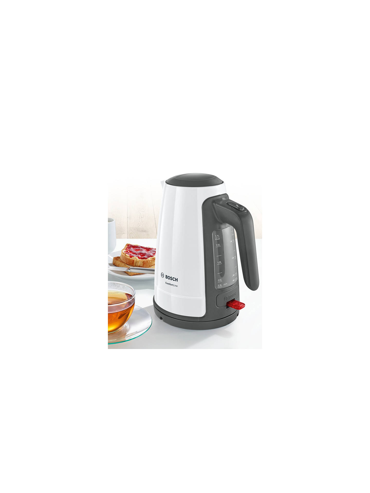 Buy Bosch ComfortLine Kettle, White Online at johnlewis.com