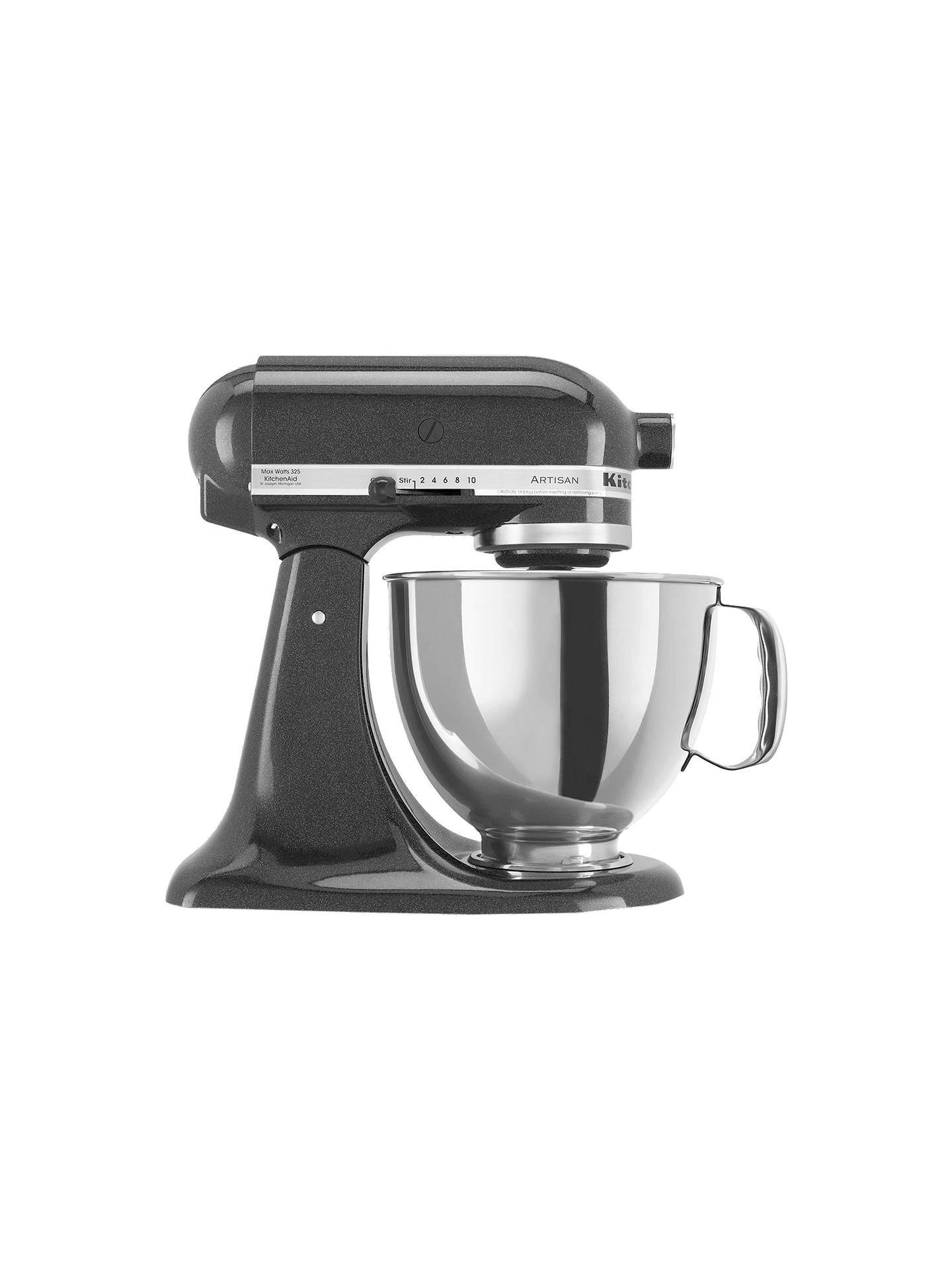 Kitchenaid 150 Artisan 4 8l Stand Mixer Black Caviar At