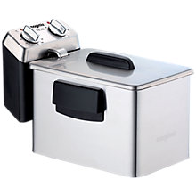 Buy Magimix Pro 350 Deep Fryer, Silver Online at johnlewis.com