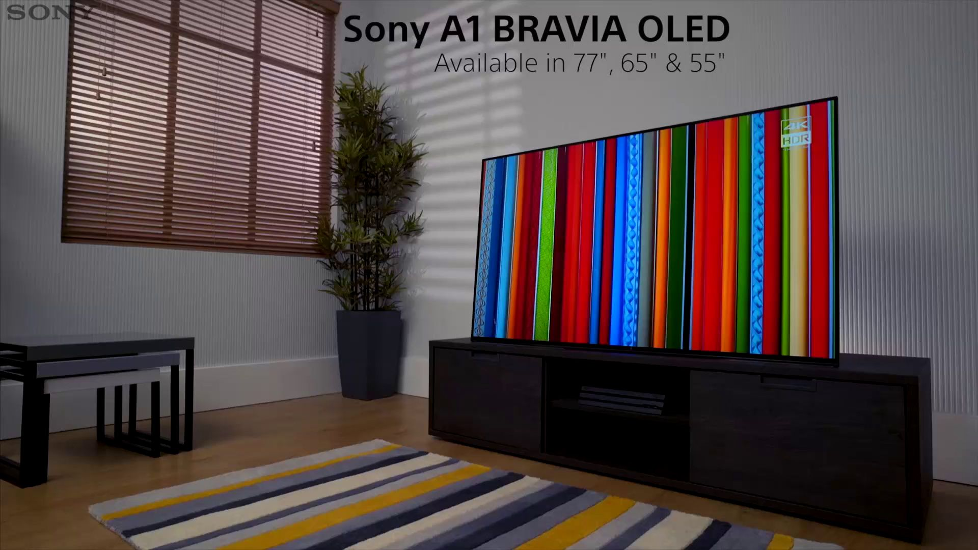 Sony Bravia KD65A1 OLED HDR 4K Ultra HD Smart Android TV, 65