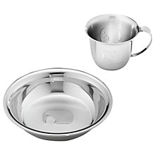 Buy Georg Jensen Elephant Child Cup and Plate Online at johnlewis.com
