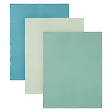 Buy John Lewis Yarn Dyed Placemat, Set of 6, Assorted Online at johnlewis.com