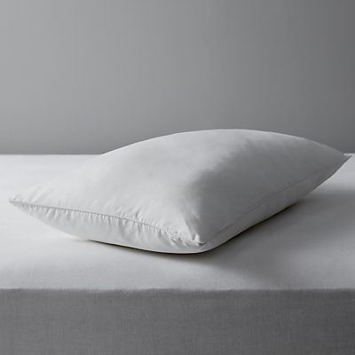John Lewis Specialist Synthetic Carefree Comfort Teflon Standard Pillow, Firm