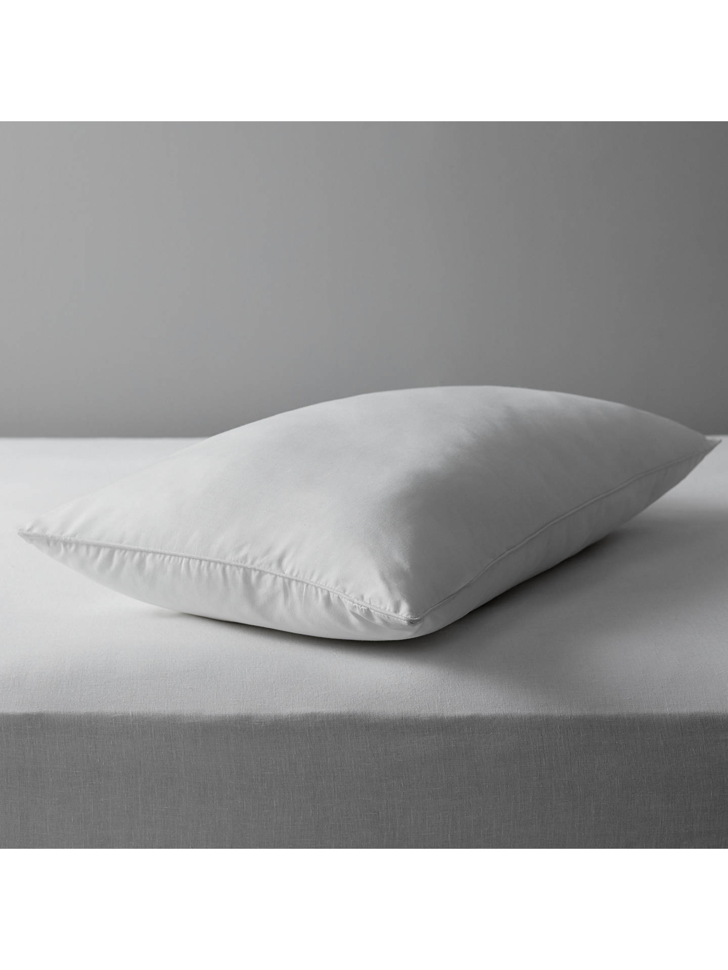 BuyJohn Lewis Specialist Synthetic Carefree Comfort Teflon Standard Pillow, Soft Online at johnlewis.com