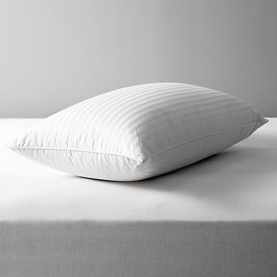 John Lewis Natural Collection Hungarian Goose Down Standard Pillow, Firm