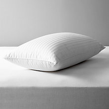 Buy John Lewis Natural Collection Hungarian Goose Down Standard Pillow, Firm Online at johnlewis.com