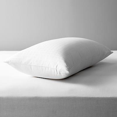 John Lewis Natural Collection Siberian Goose Down Standard Pillow, Firm