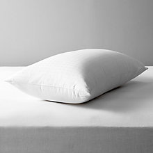 Buy John Lewis Natural Collection Siberian Goose Down Standard Pillow, Firm Online at johnlewis.com