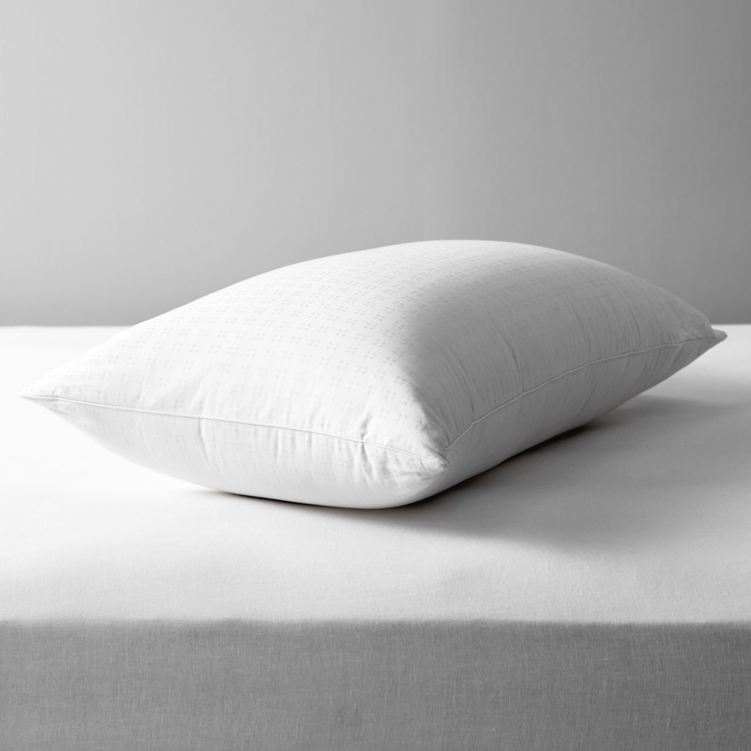 John Lewis & Partners Natural Collection Siberian Goose Down Standard Pillow, Soft