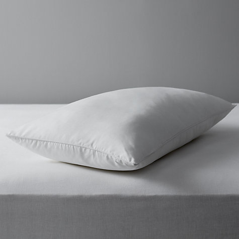 Buy John Lewis Specialist Synthetic Carefree Comfort Standard Pillow, Medium Online at johnlewis.com
