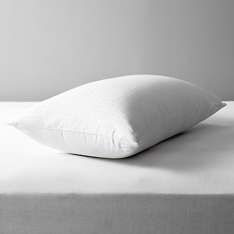 Buy John Lewis Natural Collection Siberian Goose Down Standard Pillow, Medium Online at johnlewis.com