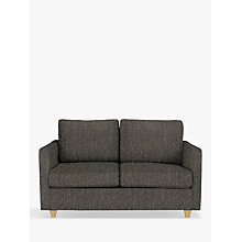 Buy John Lewis Barlow Small 2 Seater Sofa Bed with Pocket Sprung Mattress, Light Leg, Ffion Charcoal Online at johnlewis.com