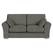 Buy John Lewis Leon Medium 2 Seater Sofa, Light Leg, Camber Steel Online at johnlewis.com