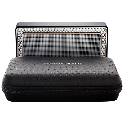 Image of Bowers & Wilkins Travel Case for T7 Portable Wireless Bluetooth Speaker, Black