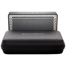 Buy Bowers & Wilkins Travel Case for T7 Portable Wireless Bluetooth Speaker, Black Online at johnlewis.com