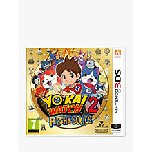 Buy Yo-Kai Watch 2: Fleshy Souls, Nintendo 3DS Online at johnlewis.com