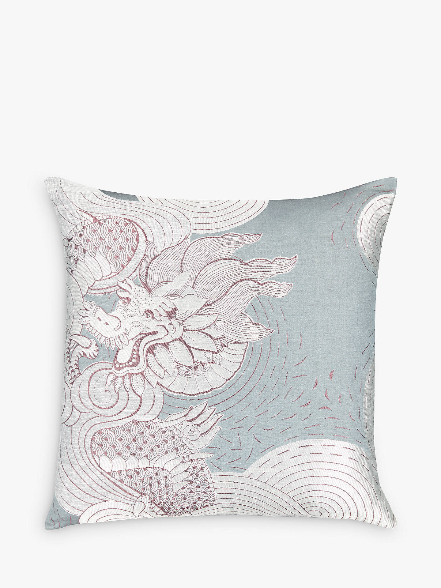 BuyV&A and John Lewis Kumo Cushion, Heritage Grey Online at johnlewis.com