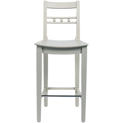 Neptune Suffolk Bar Chair, Seasoned Oak