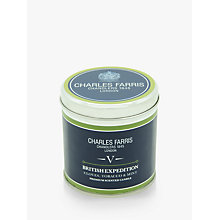 Buy Charles Farris Signature British Expedition Scented Candle Tin Online at johnlewis.com