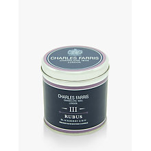 Buy Charles Farris Signature Rubus Candle Tin Online at johnlewis.com