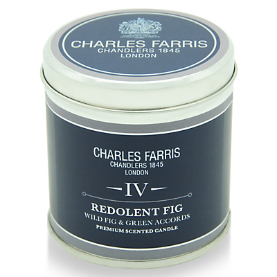 Charles Farris Signature Redolent Fig Candle Tin