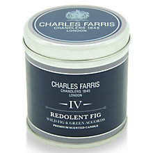 Buy Charles Farris Signature Redolent Fig Candle Tin Online at johnlewis.com