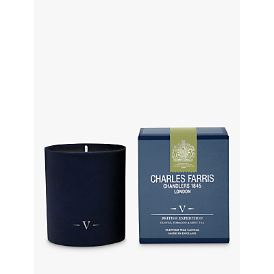 Charles Farris Signature British Expedition Candle