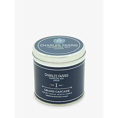 Charles Farris Signature Grand Cascade Candle Tin