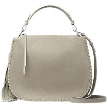 Buy AllSaints Mori Leather Hobo Bag Online at johnlewis.com
