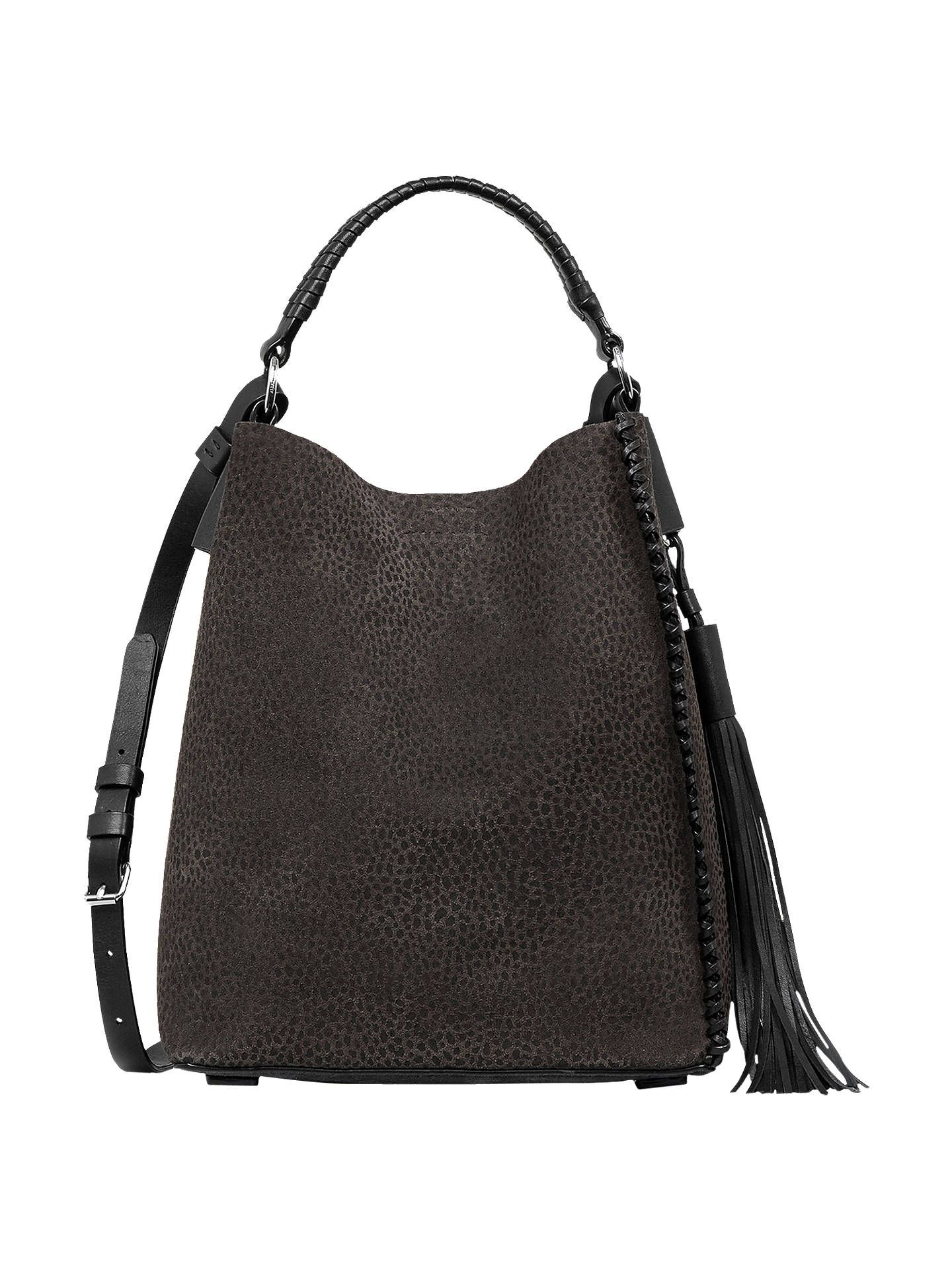 accad08a2c4cad Buy AllSaints Pearl Leather Mini Hobo Bag
