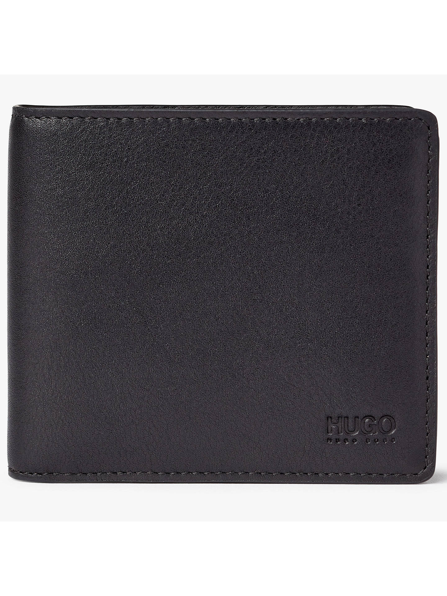 557c6505ffe Buy HUGO by Hugo Boss Subway 8 Card Leather Wallet, Red/Black Online at ...