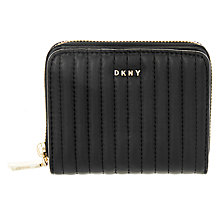 Buy DKNY Ganesvoort Small Leather Carryall Purse, Black Online at johnlewis.com