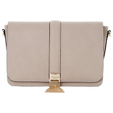 Buy Dune Dinasty Tassel Trim Shoulder Bag, Mink Online at johnlewis.com